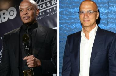 """Dr. Dre of rap group """"N.W.A."""" at the 31st Annual Rock And Roll Hall of Fame / Jimmy Iovine at HBO's Official 2016 Emmy After Party held at The Plaza at the Pacific Design Center on September 18, 2016 in West Hollywood, California"""