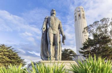 San Francisco's Christopher Columbus statue