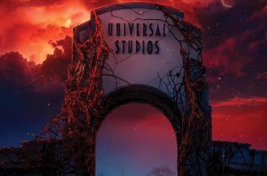 'Stranger Things' At Universal Studios