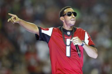 Recording artist Ludacris performs during half time of the NFC Divisional playoff between the Atlanta Falcons and the Seattle Seahawks at Georgia Dome.