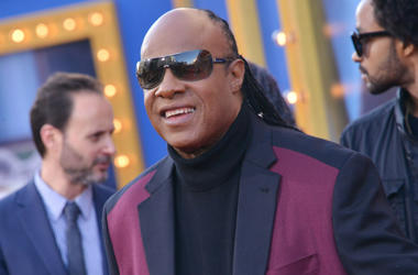 "Stevie Wonder arrives at Universal Pictures' ""Sing"" Premiere"