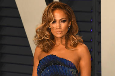 Jennifer Lopez at the Vanity Fair Oscar Party on February 24, 2019 in Los Angeles, California. (Photo by imageSPACE/Sipa USA)