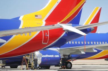 A Southwest airplane