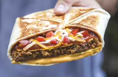 Mexican Pizza Crunchwrap