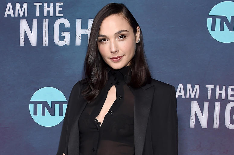 """LOS ANGELES, CA - JANUARY 24: Gal Gadot attends the Premiere Of TNT's """"I Am The Night"""" at Harmony Gold on January 24, 2019 in Los Angeles, California. (Photo by Gregg DeGuire/Getty Images)"""