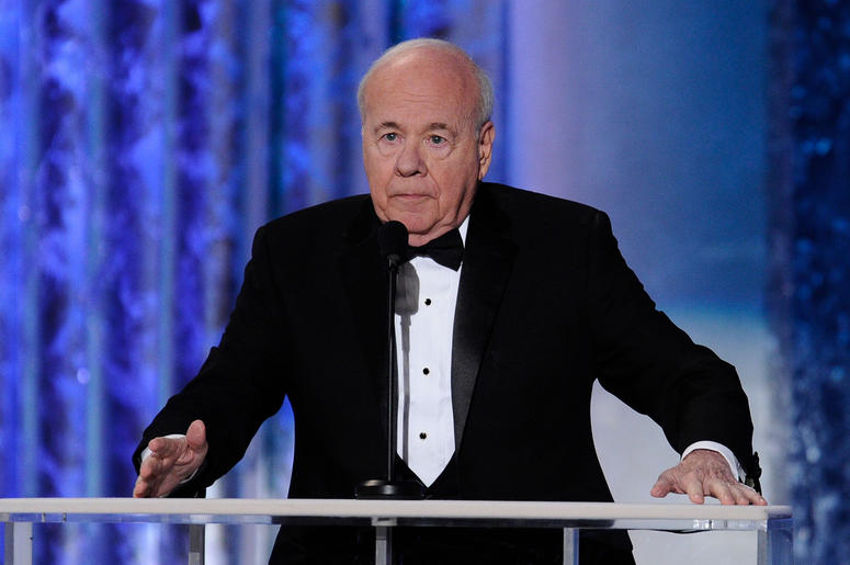 Tim Conway introduces Ernest Borgnine tribute during the 17th annual SAG Awards in Los Angeles in January 2011. Xxx Sag Awards 344 Jpg A Ent Usa Ca (Photo credit: Robert Hanashiro/USA Today)