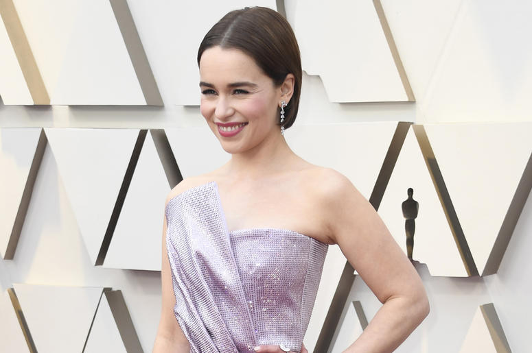 HOLLYWOOD, CALIFORNIA - FEBRUARY 24: Emilia Clarke attends the 91st Annual Academy Awards at Hollywood and Highland on February 24, 2019 in Hollywood, California. (Photo by Frazer Harrison/Getty Images)