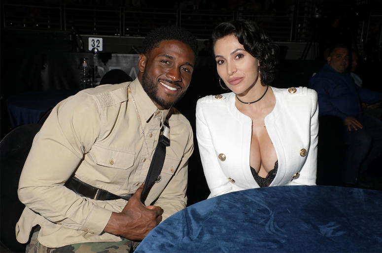 LAS VEGAS, NV - APRIL 05: Reggie Bush and Lilit Avagyan attend the 'Intimate Evening With Alicia Keys At Pearl Concert Theater For Palms Casino Resort And KAOS' Grand Opening Weekend' event on April 5, 2019 in Las Vegas, Nevada. (Photo by Roger Kisby/Gett