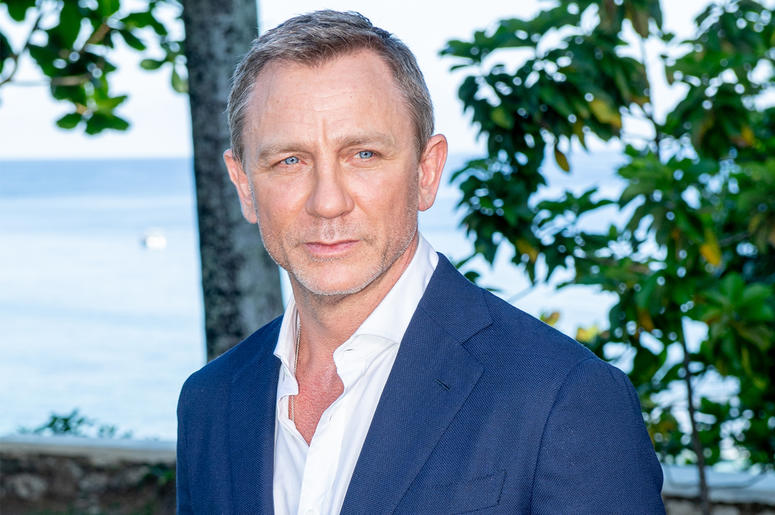 """MONTEGO BAY, JAMAICA - APRIL 25: Actor Daniel Craig attends the """"Bond 25"""" Film Launch at Ian Fleming's Home """"GoldenEye"""", on April 25, 2019 in Montego Bay, Jamaica. (Photo by Roy Rochlin/Getty Images for Metro Goldwyn Mayer Pictures)"""