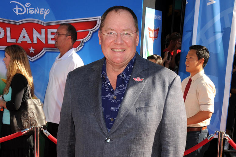 "5 August 2013 - Hollywood, California - John Lasseter. ""Planes"" Los Angeles Premiere held at the El Capitan Theatre. Photo Credit: Byron Purvis/AdMedia/Sipa USA"