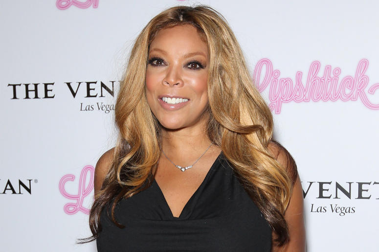"11 July 2014 - Las Vegas, Nevada - Wendy Williams. Wendy Williams kicks off ""Lipshtick- The Perfect Shade Of Stand Up"" at The Venetian Las Vegas. Photo Credit: MJT/AdMedia/Sipa USA"