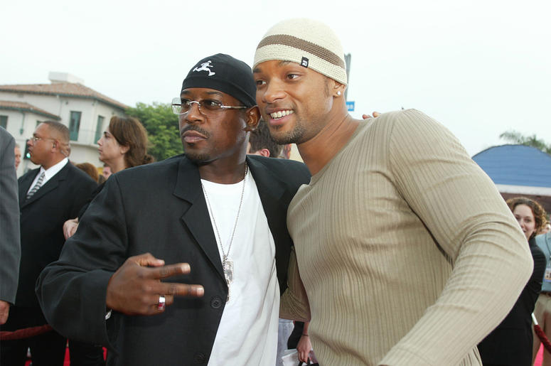 WESTWOOD, CA - JULY 9: Actors Martin Lawrence and Will Smith attend the 'Bad Boys II' movie premiere at the Mann's Village theatre on July 9, 2003 in Westwood, California. (Photo by Kevin Winter/Getty Images)