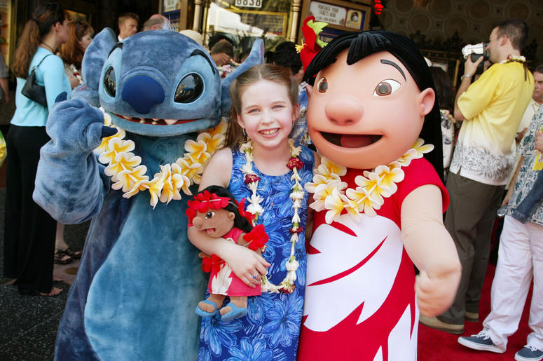 Daveigh Chase, the voice of Lilo, at the premiere and after-party for 'Lilo & Stitch' at the El Capitan Theatre in Los Angeles, Ca. Sunday, June 16, 2002. Photo by Kevin Winter/ImageDirect