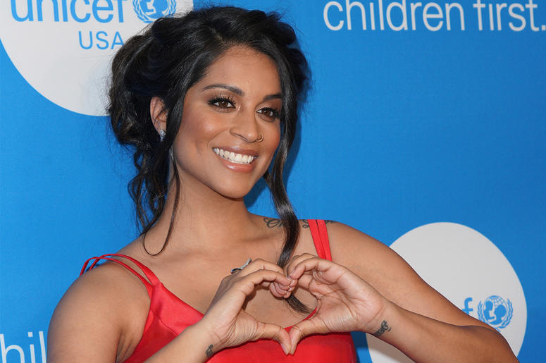 Lilly Singh at the 7th Biennial UNICEF Ball held at Beverly Wilshire Four Seasons Hotel on April 14, 2018 in Beverly Hills, CA, USA (Photo by JC Olivera/Sipa USA)