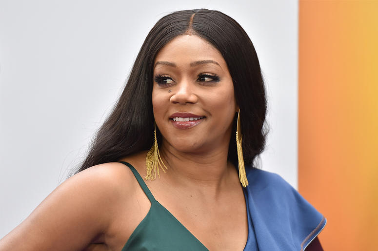 "Actress Tiffany Haddish attends ""Nobody's Fool"" New York Premiere at the AMC Lincoln Square Cinemas in New York, NY, on October 28, 2018. (Photo by Anthony Behar/Sipa USA)"