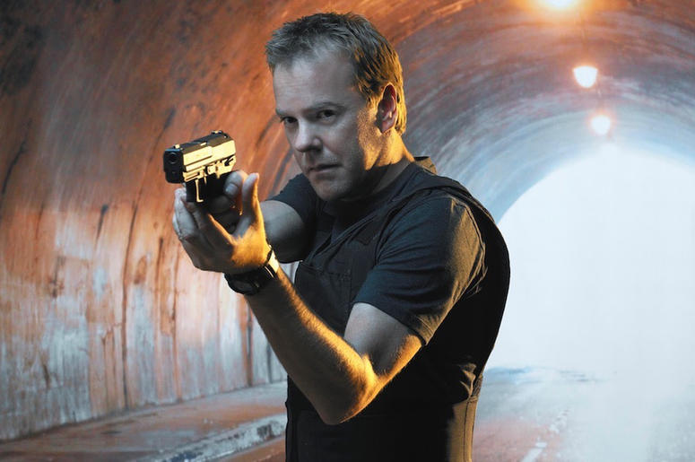 Kiefer Sutherland as Jack Bauer in '24' (Photo credit: Fox)