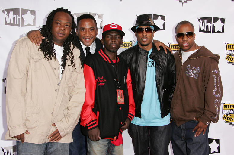 NEW YORK - OCTOBER 04: (L-R) Honorees Jarobi White, Q-Tip, Phife Dawg, Ali Shaheed Muhammad and Consequence of A Tribe Called Quest attend the 4th Annual VH1 Hip Hop Honors ceremony at the Hammerstein Ballroom on October 4, 2007 in New York City. (Photo