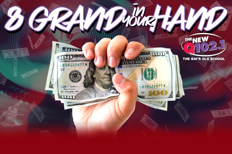 8 grand in your hand KRBQ