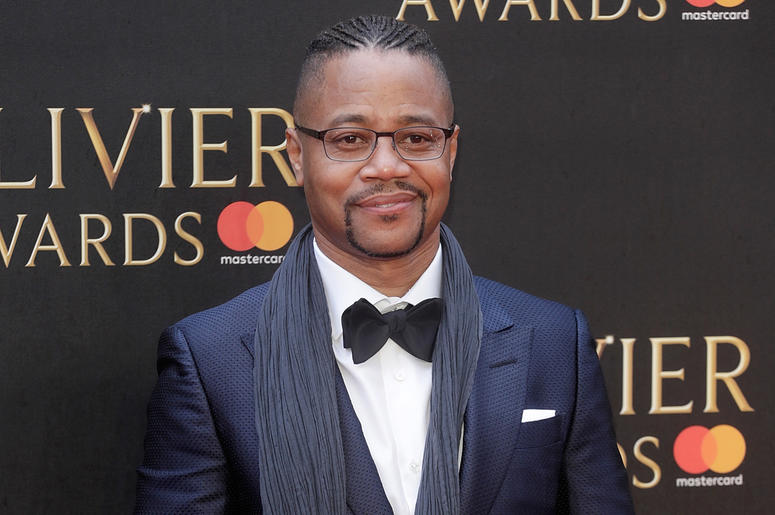 LONDON, ENGLAND - APRIL 08: Cuba Gooding Jr. attends The Olivier Awards with Mastercard at Royal Albert Hall on April 8, 2018 in London, England. (Photo by John Phillips/John Phillips/Getty Images)