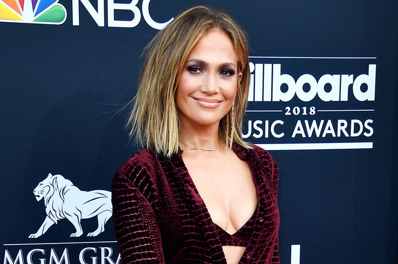 LAS VEGAS, NV - MAY 20: Recording artist Jennifer Lopez attends the 2018 Billboard Music Awards at MGM Grand Garden Arena on May 20, 2018 in Las Vegas, Nevada. (Photo by Frazer Harrison/Getty Images)