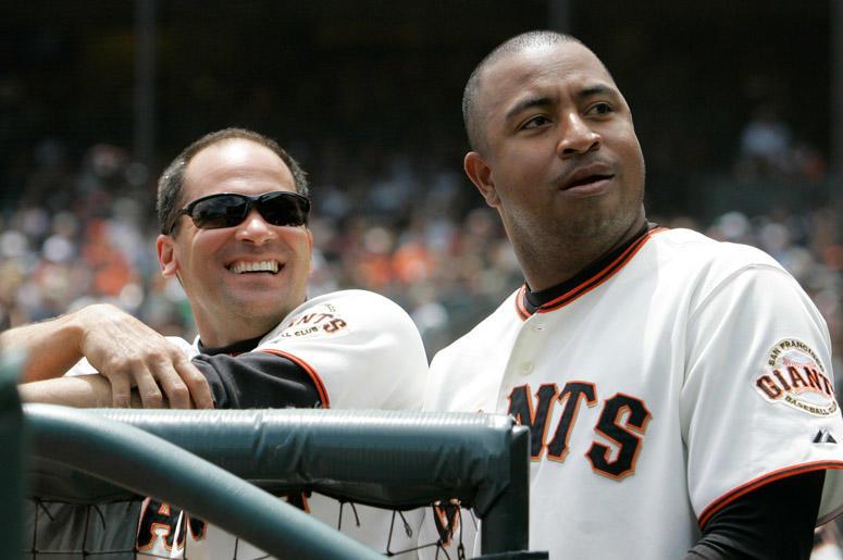 Omar Vizquel, left, and Jose Castillo