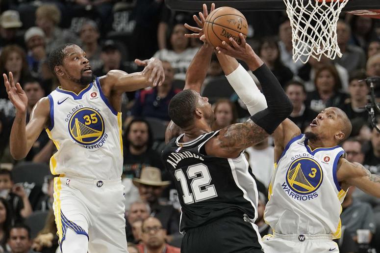 Warriors/Spurs Game 4