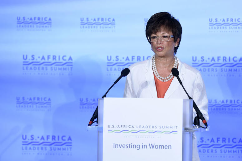 White House Senior Adviser Valerie Jarrett