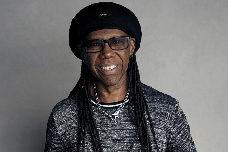 "In a Jan. 20, 2018 file photo, Nile Rodgers poses for a portrait to promote the film ""Studio 54"" at the Music Lodge during the Sundance Film Festival in Park City, Utah. Board members on Monday, July 2, 2018 unanimously elected Rodgers chairman of the Son"