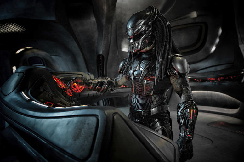 "This image released by Twentieth Century Fox shows a scene from the film, ""The Predator."" Twentieth Century Fox has cut a scene from the film featuring actor Steven Wilder Striegel after learning he is a registered sex offender. Just hours before the film"