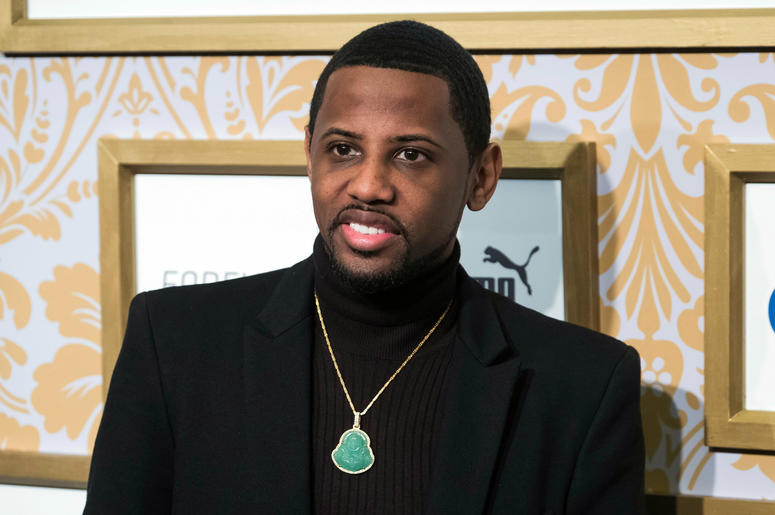 In this Jan. 27, 2018, file photo, Fabolous attends the Roc Nation pre-Grammy brunch at One World Trade Center in New York. A grand jury in New Jersey has indicted rapper Fabolous on counts of domestic violence and making terroristic threats. The rapper,