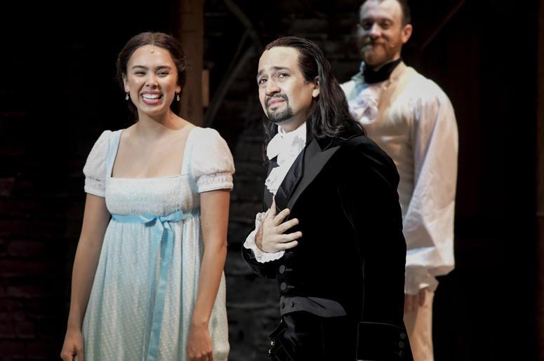 Lin Manuel Miranda Wedding.To Ovations Hamilton S Star Reprises Role In Puerto Rico The New