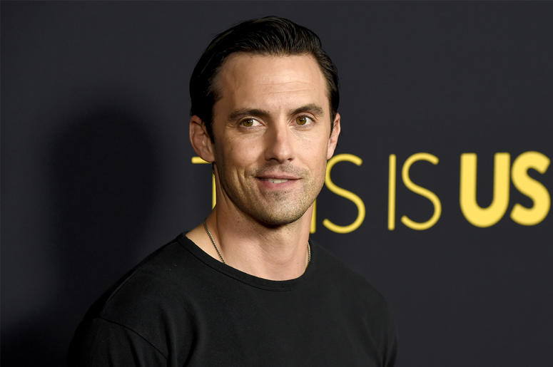 "In this Sept. 25, 2018 file photo, Milo Ventimiglia arrives at a season three premiere screening of ""This Is Us"" in Los Angeles. Ventimiglia is being honored as Man of the Year by Harvard University's Hasty Pudding Theatricals on Friday, Feb. 8. (Photo by"