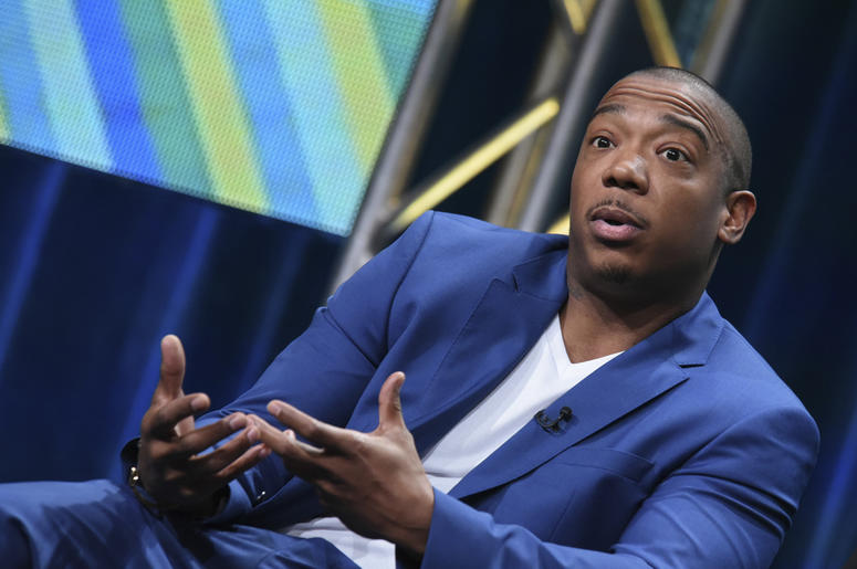 """In this Wednesday, July 29, 2015 file photo, Ja Rule speaks onstage during the """"Follow the Rules"""" panel at the Viacom Networks 2015 Summer TCA Tour held at the Beverly Hilton Hotel in Beverly Hills, Calif. Singer and rapper Ja Rule is taking some heat on"""