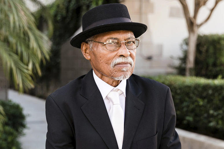 "This image provided by one of his sons via Sarah Mack Photo shows actor Nathaniel Taylor, who played the role of Rollo Dawson in the hit 1970s sitcom ""Sanford and Son."" Taylor died Wednesday, Feb. 27, 2019, in Los Angeles, at the age of 80. (Sarah Mack Ph"
