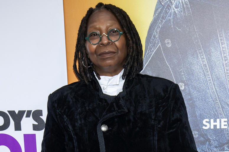 """In this Oct. 28, 2018 file photo, Whoopi Goldberg attends the world premiere of """"Nobody's Fool"""" in New York. (Photo by Charles Sykes/Invision/AP, File)"""