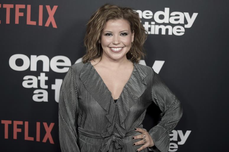 "In this Wednesday, Jan. 24, 2018 file photo, Justina Machado attends the Los Angeles premiere of ""One Day at a Time"" Season 2 at ArcLight Hollywood, in Los Angeles. (Photo by Richard Shotwell/Invision/AP, File)"