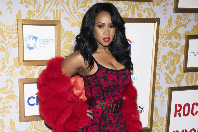 This Jan. 27, 2018 file photo shows Remy Ma at the Roc Nation pre-Grammy brunch in New York. (Photo by Charles Sykes/Invision/AP, File)
