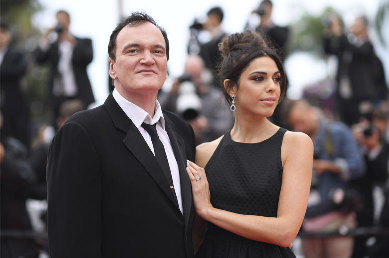 Film director Quentin Tarantino and his wife Daniela Pick pose for photographers upon arrival at the premiere of the film 'The Wild Goose Lake' at the 72nd international film festival, Cannes, southern France, Saturday, May 18, 2019. (Photo by Arthur Mola