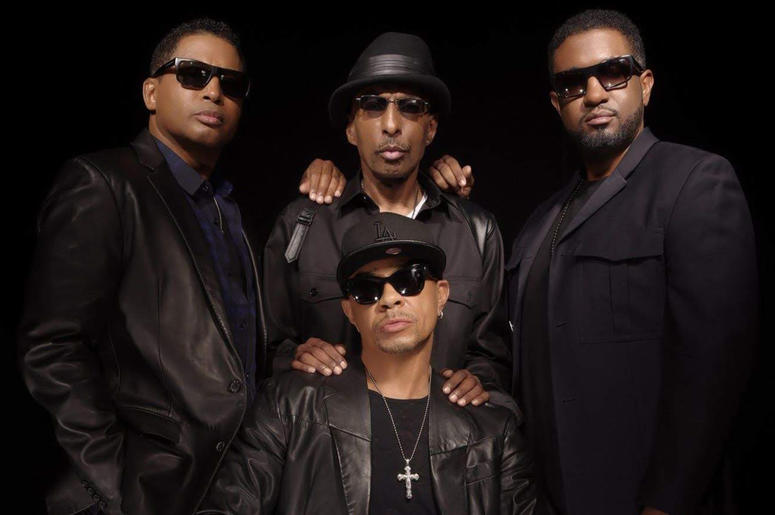 Kevon Edmonds, Melvin Edmonds, Keith Mitchell and Jason Edmonds of After 7 (Photo credit: Provided by Entertainment One Music)
