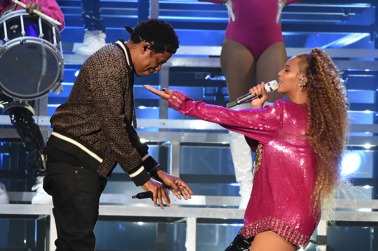 Jay-Z performs with Beyonce at 2018 Coachella