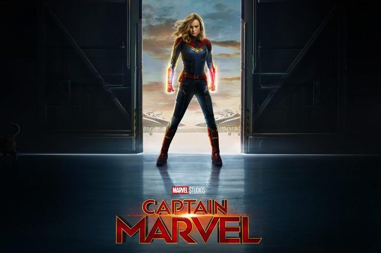 Brie Larson as 'Captain Marvel' (Photo credit: Marvel Studios/Disney)