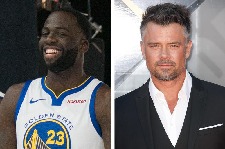 Draymond Green and Josh Duhamel
