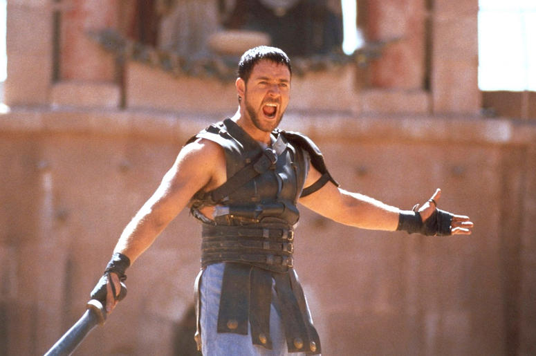 Russell Crowe in 'Gladiator' - © 2000 - Dreamworks LLC & Universal Pictures