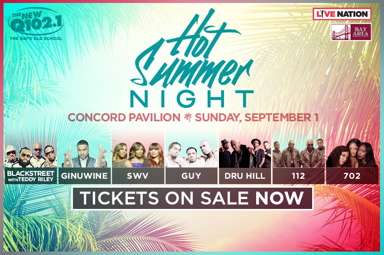 Q102's Hot Summer Night 2019