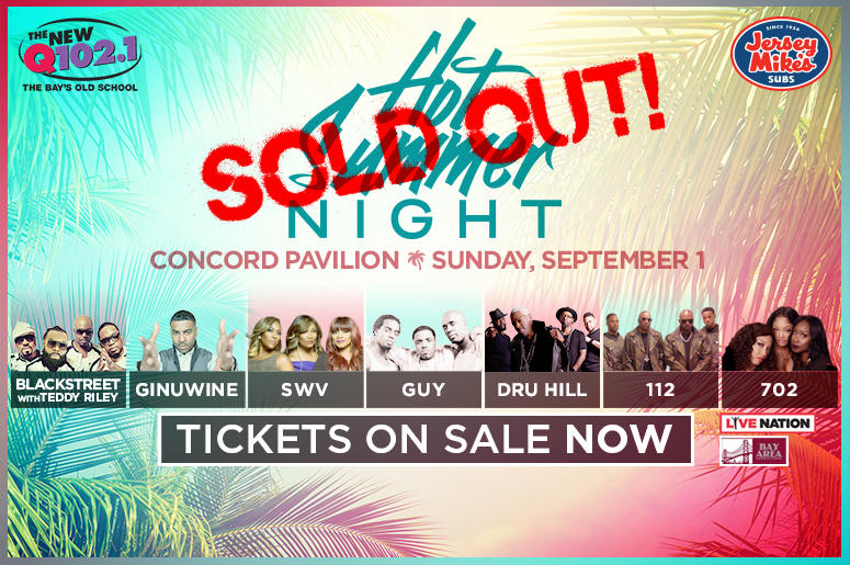 Hot Summer Night is Sold Out