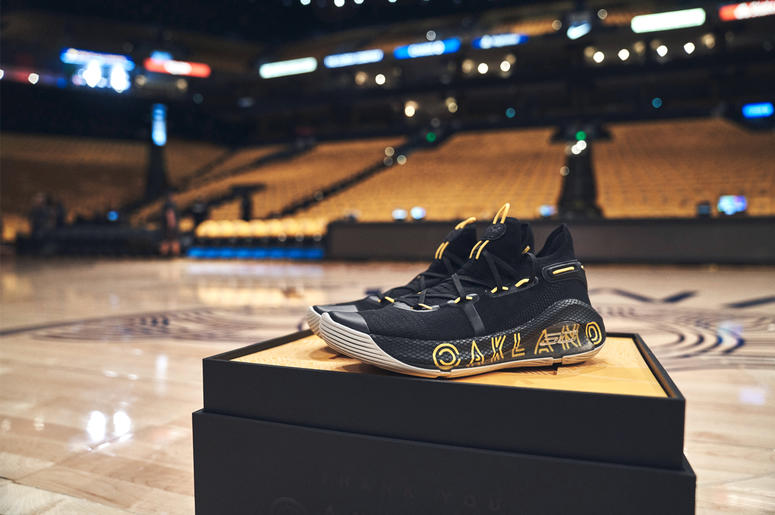 Curry 6 Thank You, Oakland (Photo credit: Under Armor Basketball)