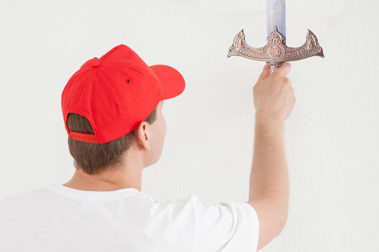 Red Cap, Sword Wielder (Dreamstime)