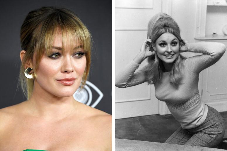 Hilary Duff and Sharon Tate