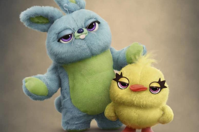 "Ducky and Bunny of ""Toy Story 4"" (Photo credit: Disney•Pixar)"