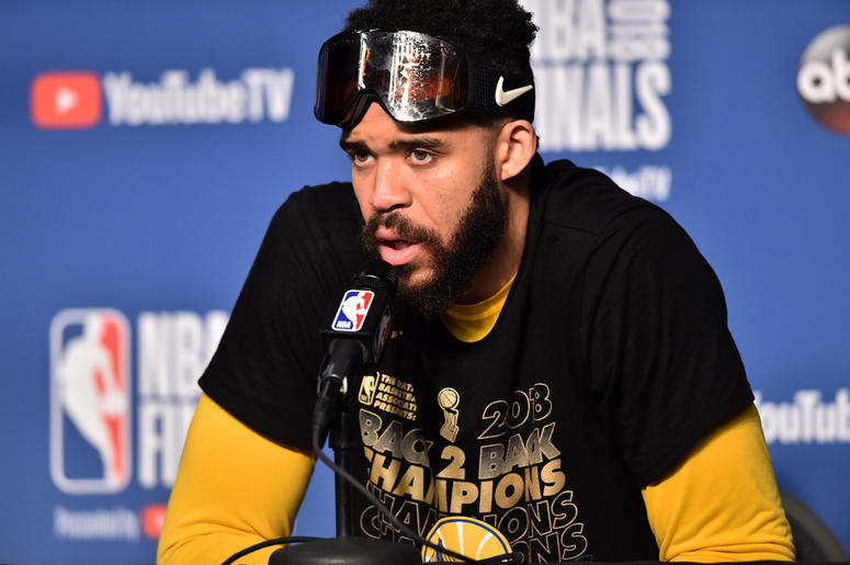 Golden State Warriors center JaVale McGee